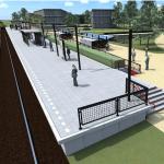 Grafische weergave van station Hengelo Gezondheidspark